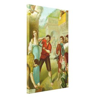 Martyrium von St. Agatha (M 003) Leinwanddruck