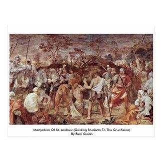 Martyrium von St Andrew Postkarte