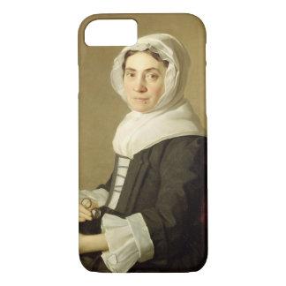 Mary Adam, 1754 (Öl auf Leinwand) iPhone 8/7 Hülle