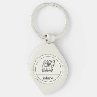 Mary in MayaKeychain Schlüsselanhänger
