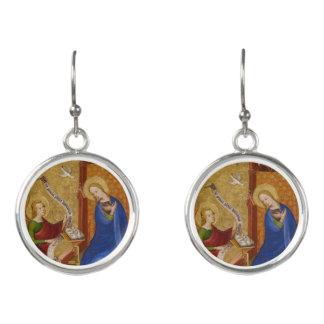 Mary und Engel der Ankündigung Ohrringe