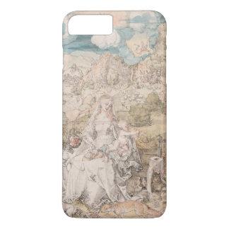 Mary unter einer Vielzahl Tieren durch Durer iPhone 8 Plus/7 Plus Hülle