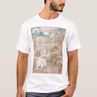Mary unter einer Vielzahl Tieren durch Durer T-Shirt
