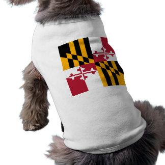 Maryland-Staats-Flagge stilvoll T-Shirt