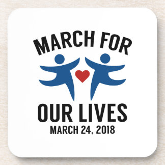 März für unsere Leben Getränkeuntersetzer