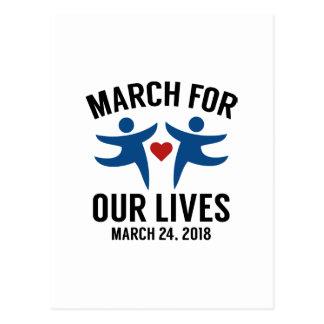 März für unsere Leben Postkarte