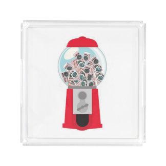Maschinen-Behälter Milliamperestunde Jongg Acryl Tablett