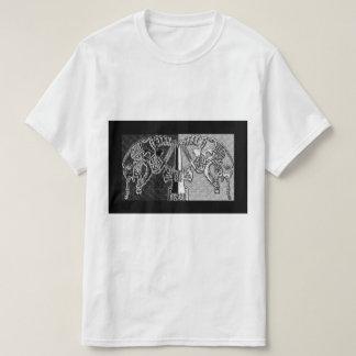 Maschinen-Kult (Balance/Aufkleber) T-Shirt