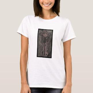 Maschinen-Kult (Scheren/Aufkleber) T-Shirt