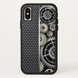 Maschinenbauwesen-Gänge und Maschen-Muster iPhone X Hülle