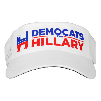 "Maske Hillary Clintons 2016 ""Democats für Hillary"" Visor"