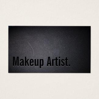 Maskenbildner-mutiger Text-elegante Dunkelheit Visitenkarte