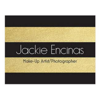 Maskenbildner u. Fotograf Jackie Encinas Postkarte
