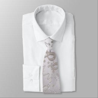 Maskerade-Maskenvorlage Individuelle Krawatten