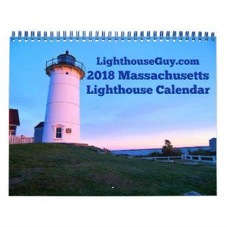 Massachusetts-Leuchtturm-Kalender 2018 Kalender
