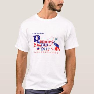 Massachusetts Romney und Ryant-shirt 2012 2 T-Shirt