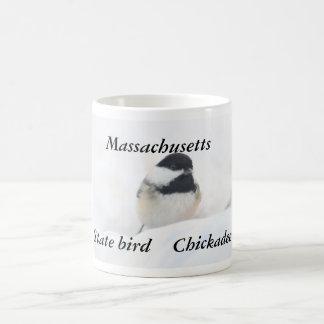 Massachusetts-Staatsvogelphotographie Kaffeetasse
