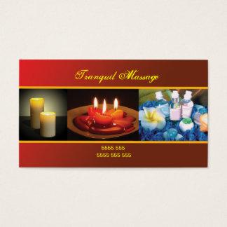 Massage-/Entspannungs-Visitenkarte Visitenkarten