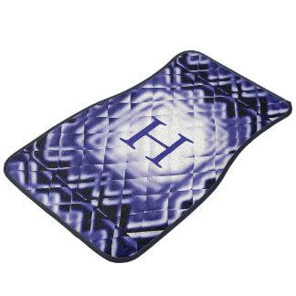 Maßc$quadrat-marine-cc$h Auto Fussmatte