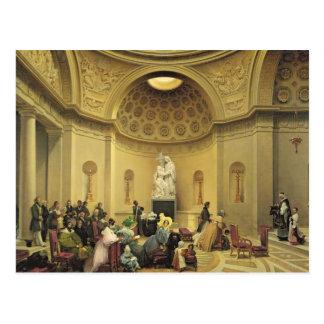 Masse in der sühnenden Kapelle, 1830-48 Postkarte