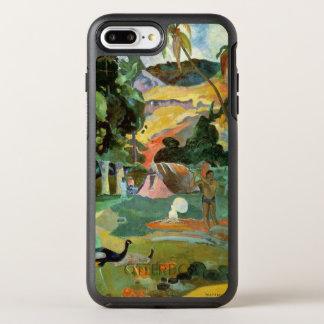Matamoe oder, Landschaft mit Pfaus, 1892 OtterBox Symmetry iPhone 8 Plus/7 Plus Hülle