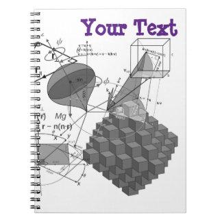 Mathe-Art Notizblock