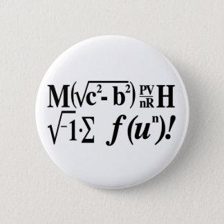 Mathe ist Spaß! Runder Button 5,1 Cm