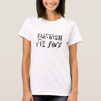 Mathe ist Spaß! T-Shirt