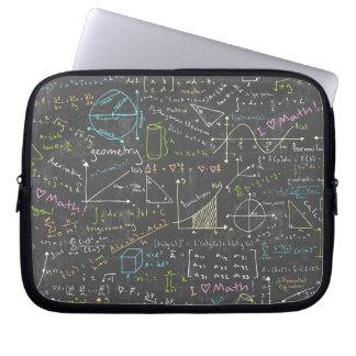 Mathe-Lektionen Laptop Sleeve