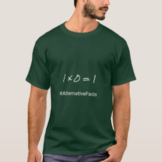 Mathe lustige hashtag Alternativtatsachen T-Shirt