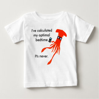 Mathe-Tintenfischbedtime-T - Shirt