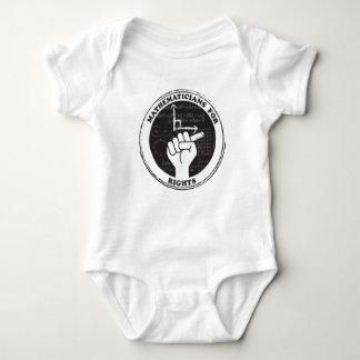 Mathematiker für das Recht-Baby einteilig Baby Strampler