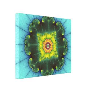 Matilda 1 - Fraktal-Kunst Leinwanddruck