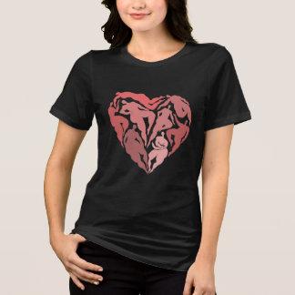 Matisse inspirierte Tänzerherz-Shirt T-Shirt
