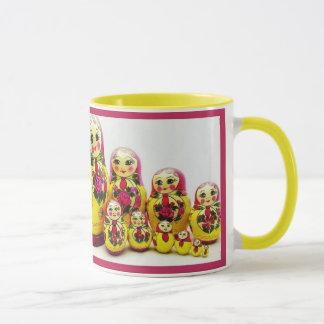 Matryoshka Puppen Tasse