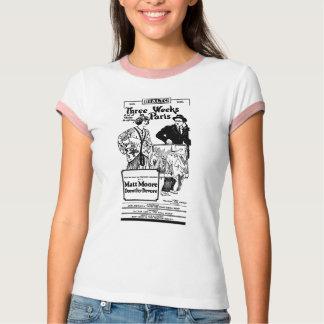Matt Moore Dorothy Devore DREI WOCHEN IN PARIS 192 T-Shirt