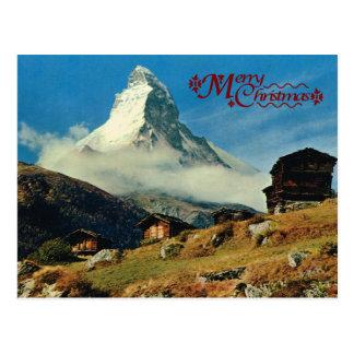 Matterhorn, Zermatt, die Schweiz Postkarte