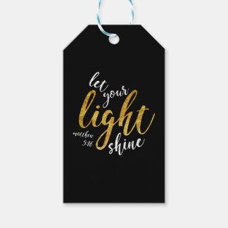 Matthew-5:16 - glänzen Sie Ihr Licht Geschenkanhänger