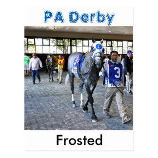 Mattiert der Sieger Pennsylvanias Derby Postkarte