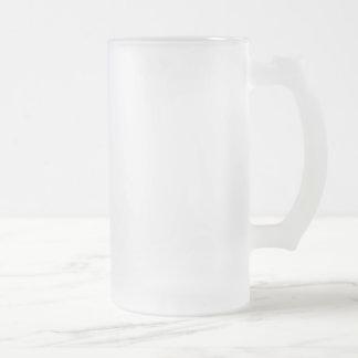 Mattierte 16 Unze mattierter GlasStein Mattglas Bierglas