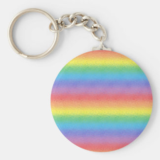 Mattierter Regenbogen Schlüsselanhänger
