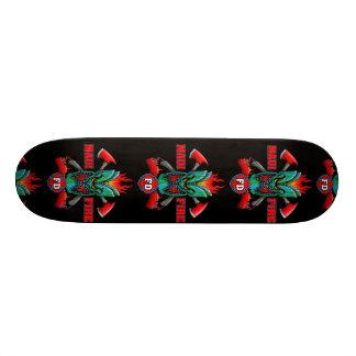 Maui-Feuer Skateboard Deck