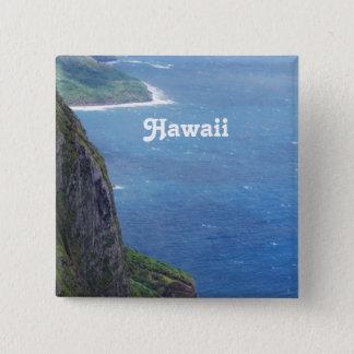 Maui-Küste Quadratischer Button 5,1 Cm