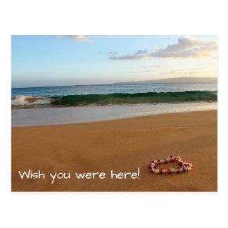 Maui-Postkarten-Wunsch waren Sie hier! Postkarte