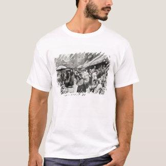 Maulbeerbiegungs-italienische Kolonie in New York T-Shirt