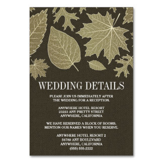 Maurer-Glas-Hochzeits-Empfangs-Anpassungs-Karten