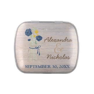 Maurer-Glas-Land-Gastgeschenk Hochzeits-Zinn Süßigkeitenbox