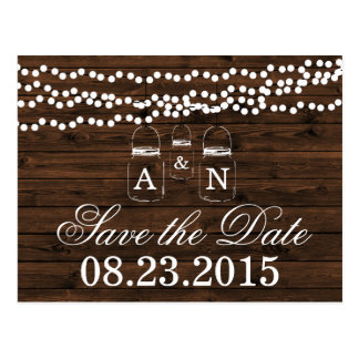 Maurer-Glas SAVE THE DATE, das Postkarte Wedding
