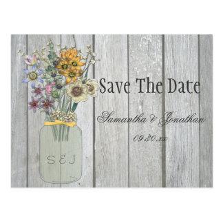 scheune save the date ansichtskarten. Black Bedroom Furniture Sets. Home Design Ideas