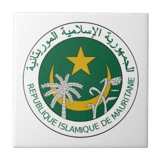 Mauretanien-Staatsangehörig-Siegel Fliese